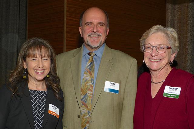Wendy Wicks, Dick Senese and Nancy Feldman