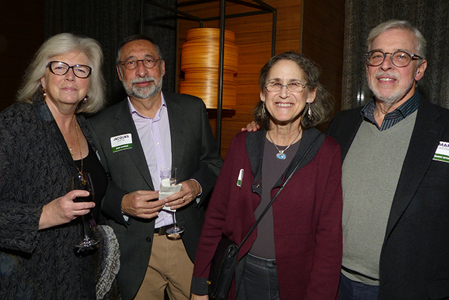 Mary and Jacques Koppel and Gay and Mark Herzberg