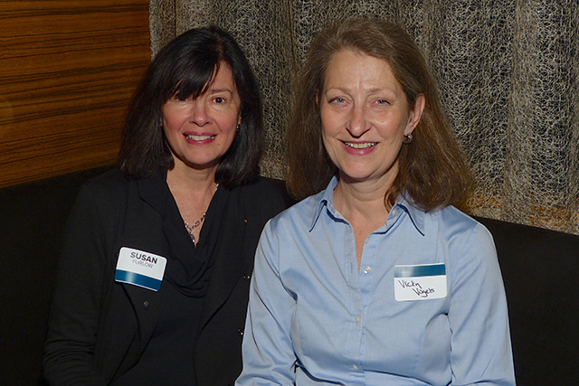 Susan Furlow and Vicky Vogels