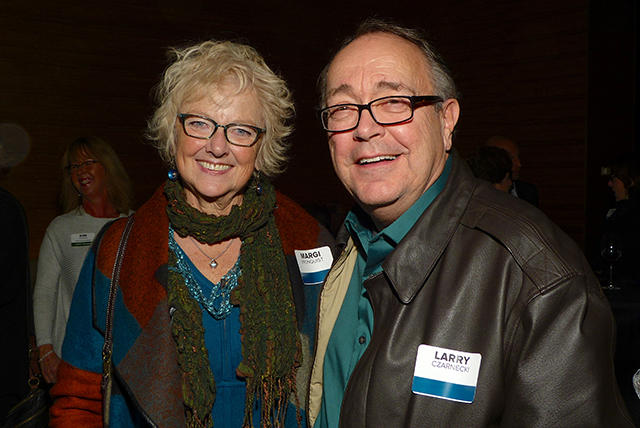 Margi Kronquist and Larry Czarnecki