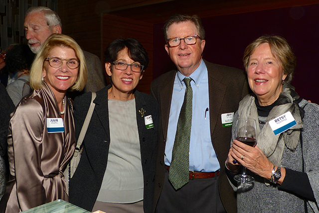 Julie Heupel, Cathy Gorlin and Jeff Keyes, and Betsy Roering