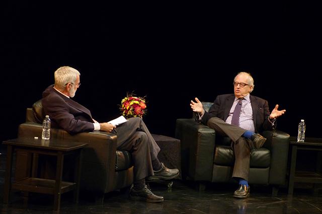 MinnPost columnist Eric Black and political scientist Norm Ornstein