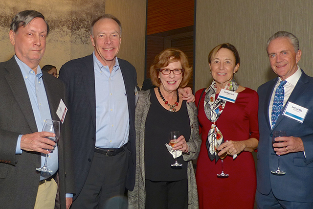 Joel Kramer, Paul Klaas, Barbara Klaas, Rebecca Bahn and Michael Brennan