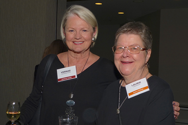 Vernae Hasbargen and Laurie Hansen