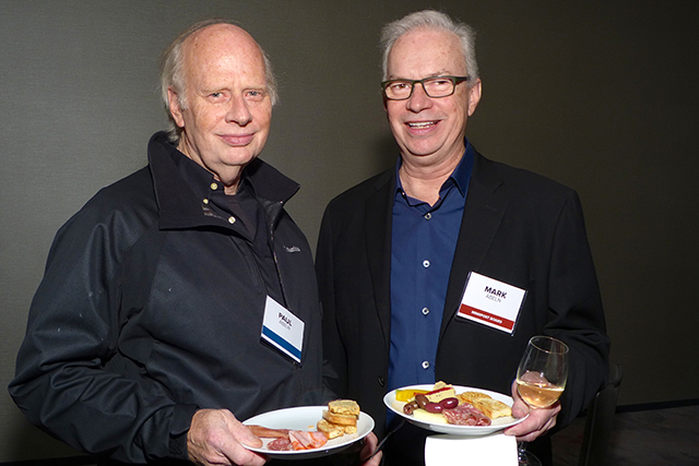 Paul Abeln and MinnPost board member Mark Abeln