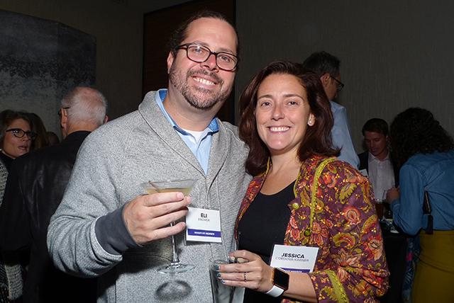 Eli Kramer and Jessica Cordova Kramer