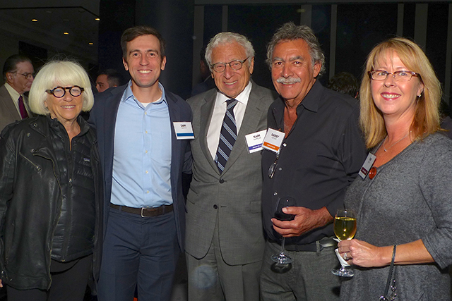 Sylvia Kaplan, Dan Feehan, Sam Kaplan, Garry Kieves and Kim Kieves