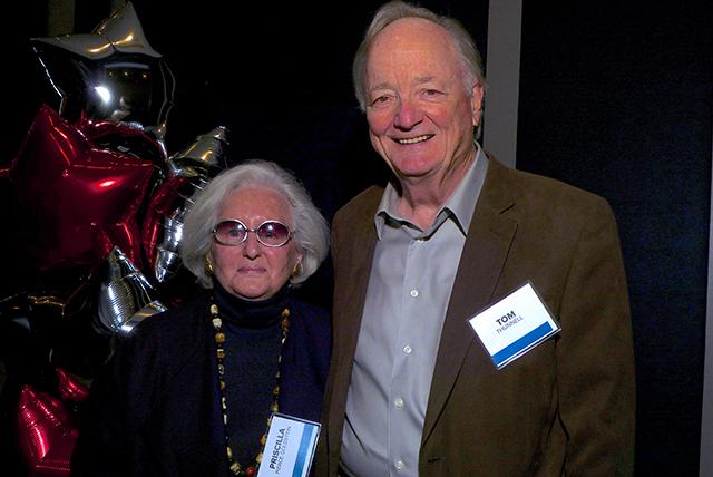 Priscilla Pierce Goldstein and Tom Thunnell