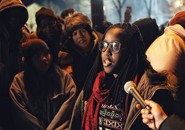 Adja Gildersleeve of Black Lives Matter