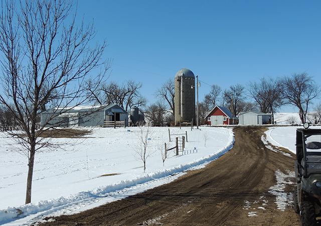 The Jergenson farm