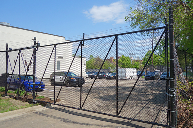 "A 10-foot ""anti-climb"" rear fence was estimated to cost 15,000."