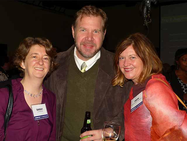 Sarah Johnson, Corey Anderson and Fawn Bernhardt-Norvell