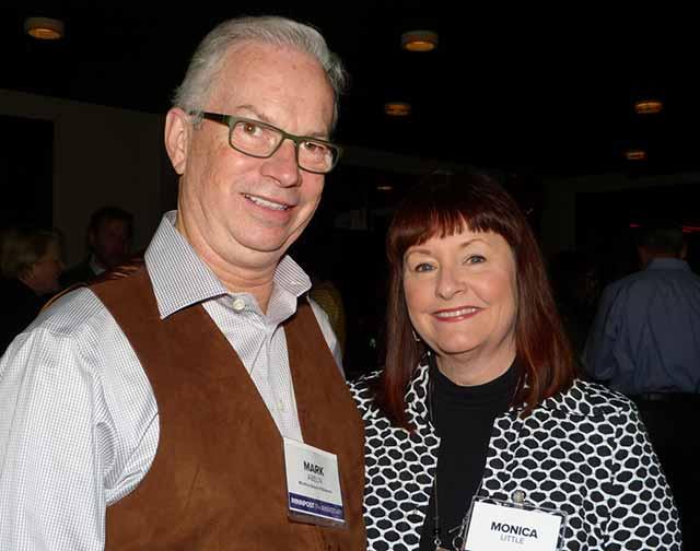 Mark Abeln and Monica Little