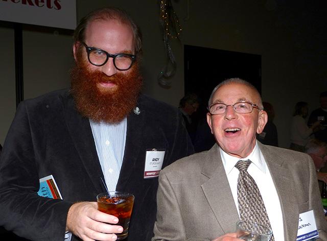 Stroll columnist Andy Sturdevant and Larry Lockman