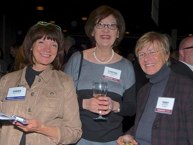Debbie Irestone, Cynthia Boyd and Terry Gydesen