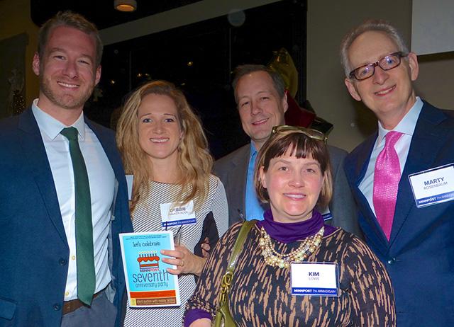 Steven Kool, Deborah Walker Kool, Ryan Miest, Kimberly Lowe and Marty Rosenbaum