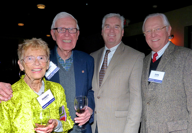 Charty and Edward Oliver, Rep.-elect Tom Emmer and Don Shelby