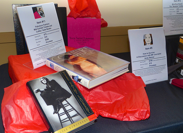 Fashion exhibit tickets and coffee table books up for grabs
