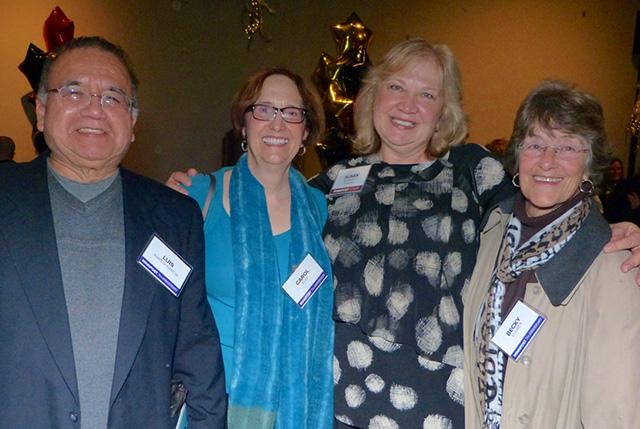 Luis Ramos-Garcia, Carol Klee, Susan Albright and Becky Lourey