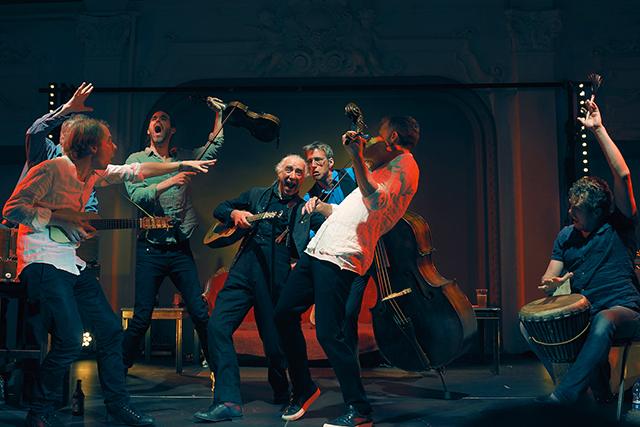 "Norwegian ensemble Barokksolistene performing ""The Alehouse Sessions"""