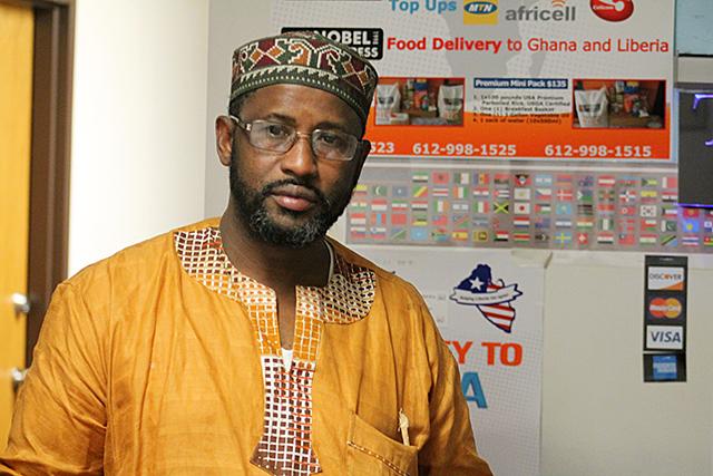 Alhaaji Mohamed Bah, president of Guinea Association of Minnesota