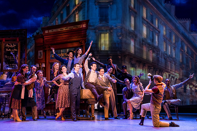 """The cast of """"An American in Paris."""""""