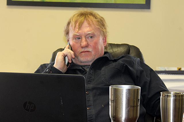 Andrew Sorensen, president and CEO of GarbageMan