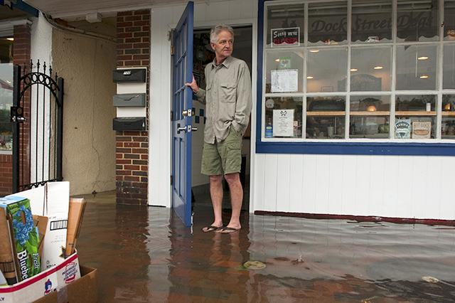 Chesapeake Bay overflowed its banks
