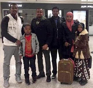 The family of Najib Abi