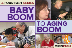 Four part series: Baby Boom to Aging Boom