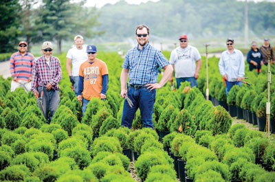Bailey Nurseries relies heavily on seasonal immigrant employees, but the visa system to bring those workers here is a huge headache, says HR Director Joe Bailey.