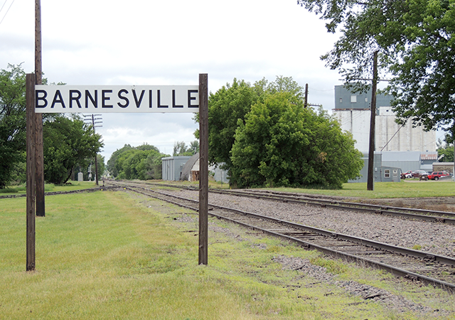 Barnesville, in Clay County, has a population of about 2,500.