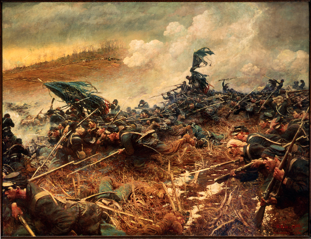 """The Battle of Nashville"" by Howard Pyle"