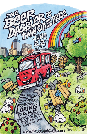 The Beer Dabbler at Twin Cities Pride