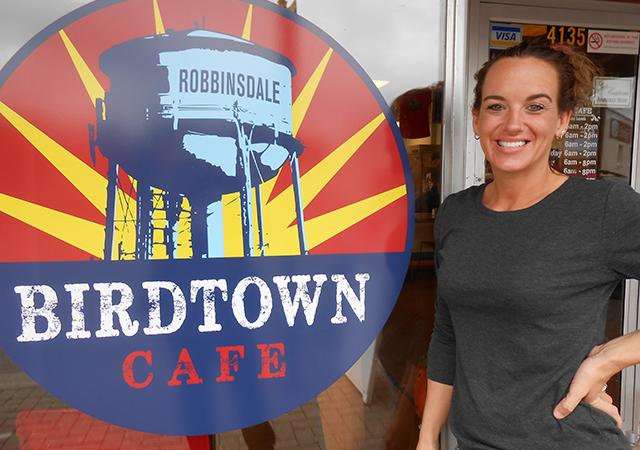 Birdtown Café's Jackie Eagles