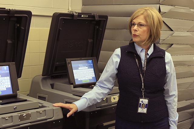 Bloomington City Clerk Janet Lewis