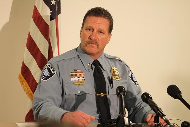 Minneapolis Police union president Bob Kroll