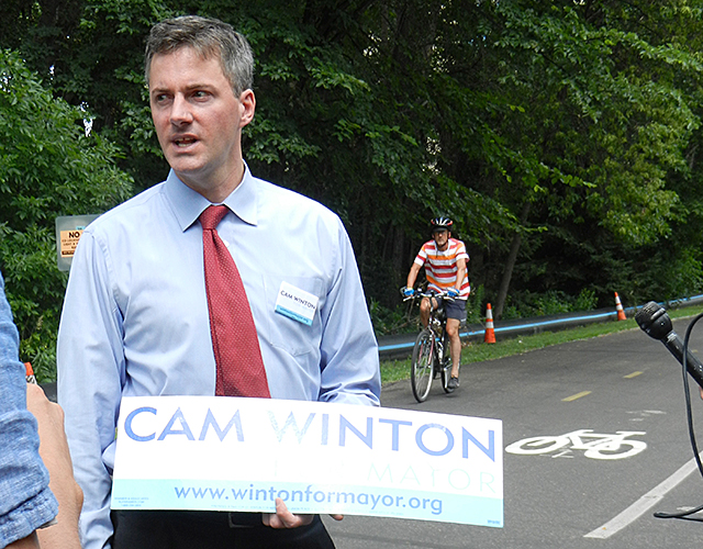 Minneapolis mayoral candidate Cam Winton