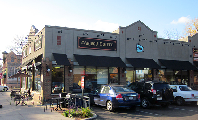 Caribou Coffee on Grand Avenue in St. Paul