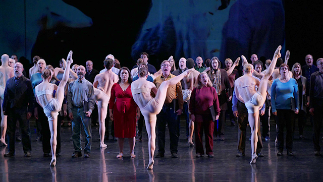 "Minnesota Dance Theatre performing ""Carmina Burana."""