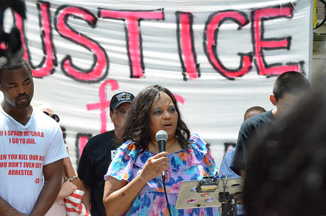 Ericka Cullars-Golden's son Marcus also died in a police-involved shooting