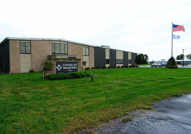 Nearly 100 people work at Chandler Industries in Montevideo, Minnesota.