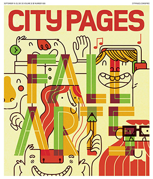 City Pages 2012 fall arts cover