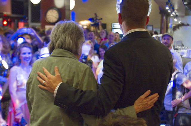 State Rep. Karen Clark and state Sen. Scott Dibble