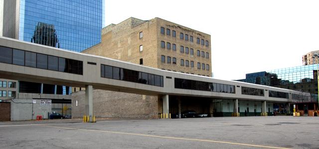 concrete skyway, Minneapolis