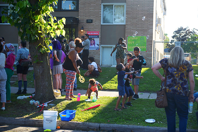 Corcoran block party