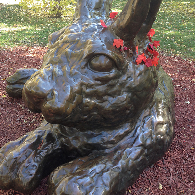 """Jeff Barber's """"Cottontail on the Trail"""""""