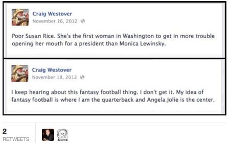 Craig Westover tweets