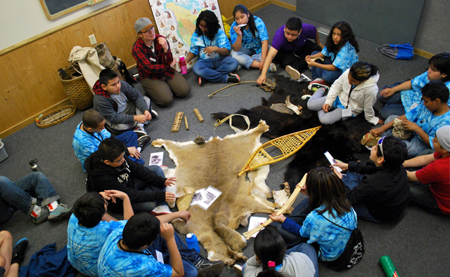 Ojibwe heritage class provides hands-on experience with the ways of native cultures of Minnesota.