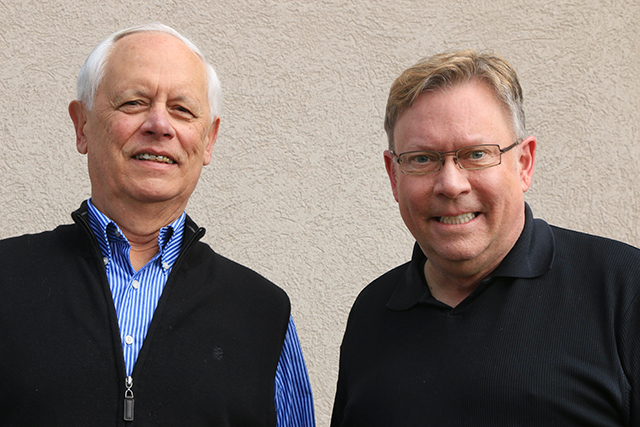 Dale LaFrenz and Paul Gullickson